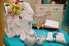 Wedding floral decoration Stock Photo