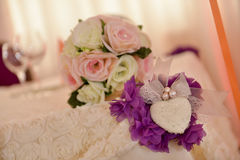 Wedding floral decorations Royalty Free Stock Photos