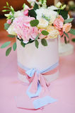 Wedding floral decorations stock photography