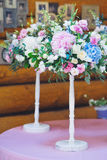 Wedding floral decorations royalty free stock images