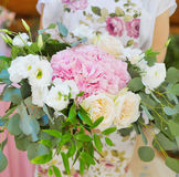 Wedding floral decorations Royalty Free Stock Photography