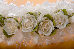 Wedding floral diadem Royalty Free Stock Photo