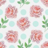 Wedding Floral Seamless Pattern 3 Royalty Free Stock Image