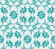 Wedding floral seamless pattern Stock Photos