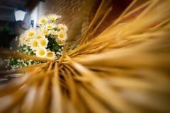 Wedding floreal decoration Stock Photos