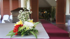 Wedding flower. A lovely beautiful wedding flower Royalty Free Stock Photo