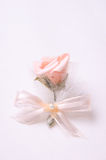 Wedding flower. Beautiful wedding flower decoration for guests Stock Images