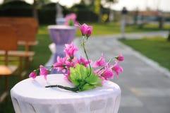Wedding flower arrangement Stock Photo