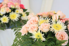 Wedding flower arrangement Royalty Free Stock Photography