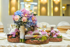Wedding flower arrangement Stock Photography