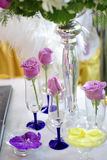Wedding flower arrangement Stock Photography