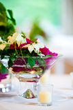 Wedding Flower Arrangement Table Setting Series Royalty Free Stock Photography