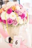 Wedding flower arrangement Royalty Free Stock Photos