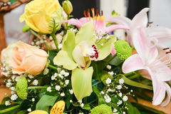 Wedding flower bouquet Royalty Free Stock Image