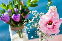 Wedding flower bouquets. Stock Photography