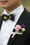 Wedding buttonhole Stock Image