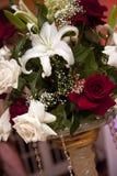 Wedding flower decor Royalty Free Stock Photo
