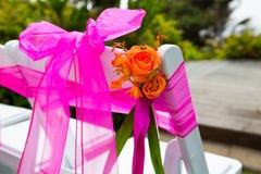 Wedding Flower Decor Stock Photography