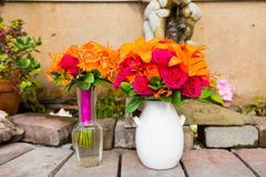 Wedding Flower Decor Stock Images