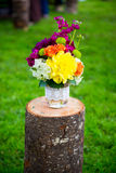 Wedding Flower Decor Stock Photography