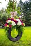 Wedding Flower Decor Stock Images