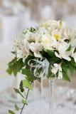 Wedding flower decoration Royalty Free Stock Image