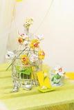 Wedding flower decoration Stock Photo