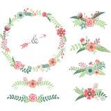 Wedding Flower Elements Royalty Free Stock Photo