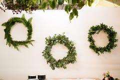Wedding Flower Florist Wreaths Stock Photography