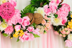 Wedding flower line Stock Images