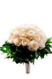 Wedding flowers. Isolated on white background royalty free stock photography