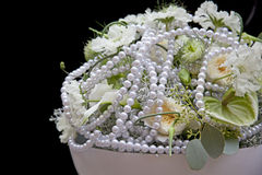 Wedding flowers. Wedding arrangement with fresh flowers Stock Photos