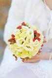 Wedding flowers bouquet Royalty Free Stock Photo