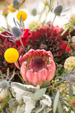 Wedding flowers and bouquet Stock Image