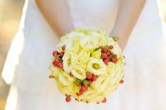 Wedding flowers bouquet Stock Photos