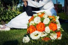 Wedding flowers Stock Image