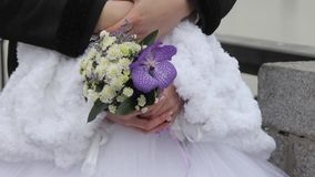 Wedding flowers stock video
