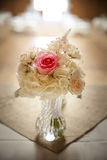 Wedding Flowers Centerpiece Stock Photo