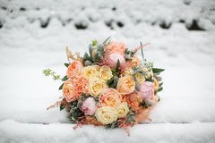 Wedding flowers closeup. Royalty Free Stock Photography