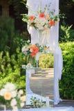 Wedding Flowers Decoration Royalty Free Stock Image