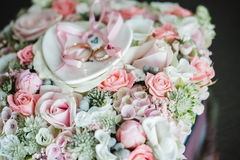 Wedding flowers dekor bride Royalty Free Stock Images