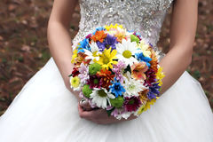 Bride Flowers stock photography