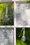 Wedding flowers in jar Stock Images