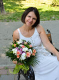 Wedding flowers - outdoor Stock Images