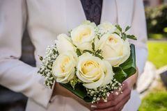 Wedding flowers of roses Stock Photography
