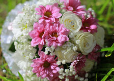 Wedding Flowers. It's not just beautiful, it is also a special language that communicate with each other in love Royalty Free Stock Photos
