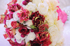 Wedding flowers on the table Stock Photo