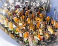 Wedding food composition Stock Photo