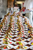 Wedding Food Preperation Stock Images