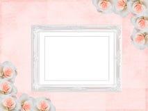 Wedding frame royalty free illustration